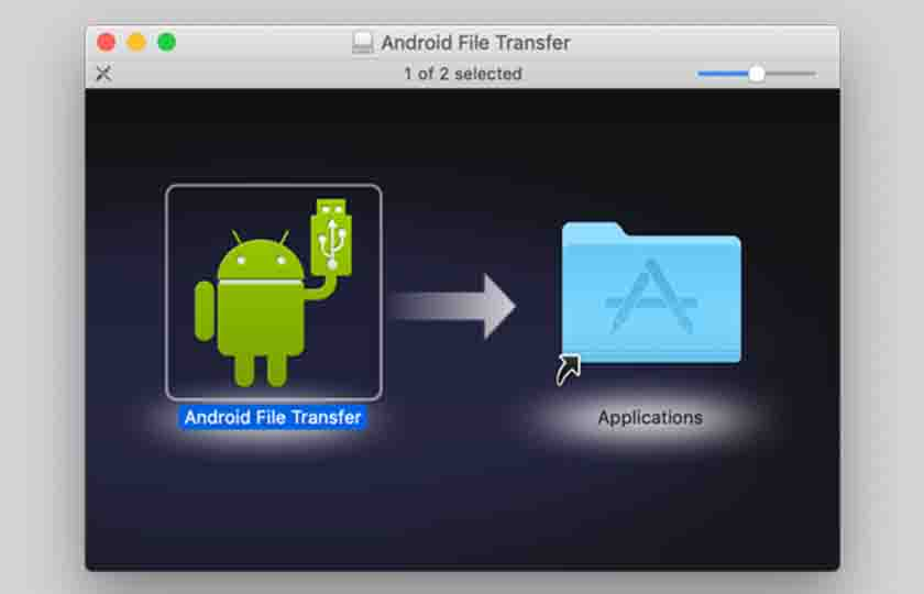 transfer files from android to your Mac