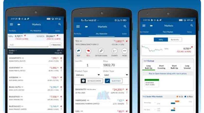 Android app for share market